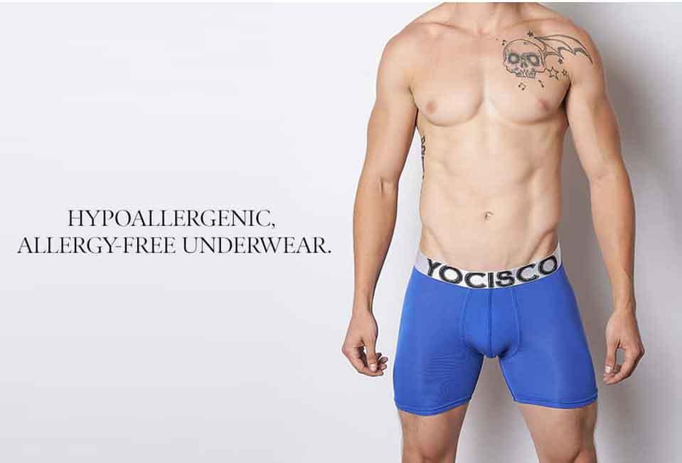 Hypoallergenic underwear